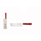 Berti Cutlery Insieme Nakiri Knife with Red Lucite Handle MPN: 93231