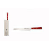 Berti Cutlery Insieme Sashimi Knife with Red Lucite Handle MPN: 93232