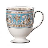 Wedgwood Florentine Turquoise Mug Leigh MPN: 50102609466 UPC: 032677973790 Wedgwood Florentine Turquoise Collection
