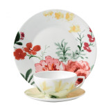 Wedgwood Jasper Conran Floral 3-Piece Set Buttercup Teacup Saucer and Plate 9 Inch MPN: 40015440 UPC: 701587255004 Wedgwood Jasper Conran Floral Collection