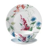 Wedgwood Jasper Conran Floral 3-Piece Set Cornflower Teacup Saucer and Plate 9 Inch MPN: 40015432 UPC: 701587254922 Wedgwood Jasper Conran Floral Collection