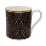 Halcyon Days Antler Trellis Mug Black BCGAT02MGG EAN: 5060171154235