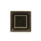 Halcyon Days Antler Trellis Square Tray Black BCGAT02STG EAN: 5060171154709