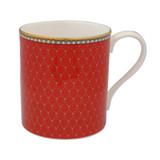 Halcyon Days Antler Trellis Mug Red BCGAT06MGG EAN: 5060171154242