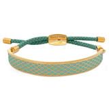 Halcyon Days Salamander Turquoise Gold 1cm Friendship Bangle FBSAL1410G EAN: 5060171149651