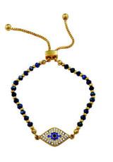 Halcyon Days Pave Evil Eye Bracelet BREVE11BEG EAN: 5060171158820
