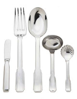 Ricci Argentieri Art Deco 5 Piece Hostess Set MPN: 1001 UPC: 644907010016