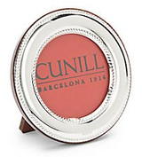 Cunill 5 Inch Round Bead Picture Frame - Sterling Silver MPN: 80850