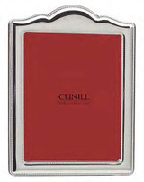 Cunill Barcelona Arch Bead 4 x 6 Inch Picture Frame - Silverplated MPN: 140103