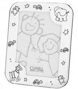 Cunill Barcelona Baby Zoo 4 x 6 Inch Picture Frame - Silverplated MPN: 395037