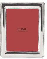 Cunill Barcelona Beaded 4 x 6 Inch Picture Frame - Silverplated MPN: 126803