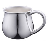 Cunill Bulged Baby Cup - Silverplated MPN: 335703