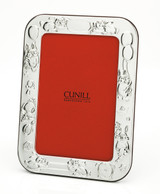 Cunill Bunnies Birth Record 4 x 6 Inch Picture Frame - Silverplated MPN: 395039
