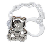 Cunill Cub Pacifier Clip - Sterling Silver MPN: 01153N