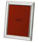 Cunill Barcelona Grooves 5 x 7 Inch Picture Frame - Silverplated MPN: 395051