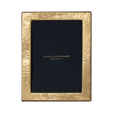 Cunill Barcelona Hammered 8 x 10 Inch Picture Frame - 24k Gold Plated 0.5 Microns MPN: 8879G