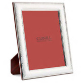 Cunill Barcelona Hammered Bead 5 x 7 Inch Picture Frame - Sterling Silver MPN: 4557