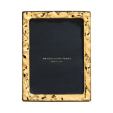Cunill Barcelona Molten 5 x 7 Inch Picture Frame - 24k Gold Plated 0.5 Microns MPN: 81257G