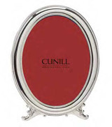 Cunill Barcelona Oval Bead 5 x 7 Inch Picture Frame - Silverplated MPN: 125802