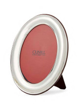 Cunill Barcelona Oval Plain 5 x 7 Inch Picture Frame - Sterling Silver MPN: 96657