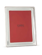 Cunill Barcelona Pearls Wide Border 8 x 10 Inch Picture Frame - Sterling Silver MPN: 3979
