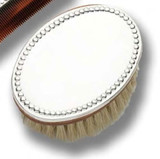 Cunill Barcelona Pearls Baby Hairbrush - Sterling Silver MPN: 212237