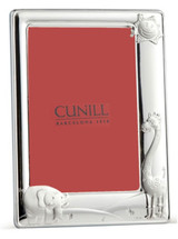 Cunill Barcelona Sunny Zoo 4 x 6 Inch Picture Frame pink back - Sterling Silver MPN: 33646P
