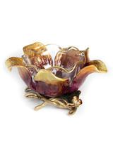 Jay Strongwater Ellie Brocade Flower Bowl MPN: SDH2403-489