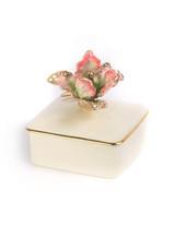 Jay Strongwater Lainey Rose Celadon Tulip Porcelain Box MPN: SDH7361-272