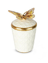 Jay Strongwater Bridget Golden Butterfly Candle MPN: SDH6599-232