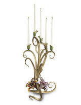 Jay Strongwater Aubree Flora Orchid Candelabra MPN: SDH2424-456