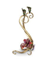 Jay Strongwater Roselyn Flora Orchid Double Candlestick MPN: SDH2356-456