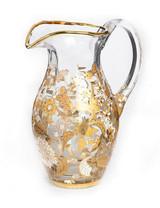 Jay Strongwater Arabella Platinum Floral Vine Pitcher MPN: SDH2416-295