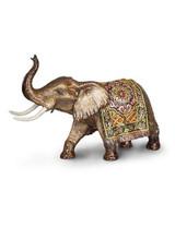Jay Strongwater Duke Brocade Grand Tapestry Elephant Figurine MPN: SDH1864-489