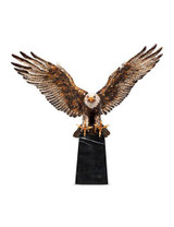Jay Strongwater Washington Natural Grand Eagle Figurine MPN: SDH1790-280