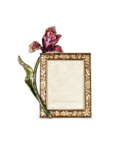 Jay Strongwater Ilsa Bouquet 3 x 4 Inch Tulip Picture Frame MPN: SPF5808-289