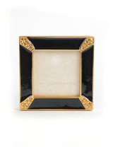 Jay Strongwater Leland Black Pave Corner 2 Inch Square Picture Frame MPN: SPF5130-273