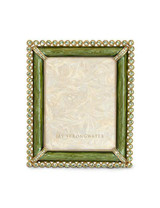 Jay Strongwater Emilia Leaf Stone Edge 3 x 4 Inch Picture Frame MPN: SPF5114-229