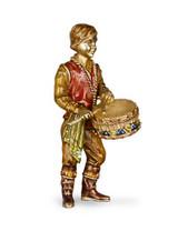 Jay Strongwater Jewel Drummer Boy Figurine MPN: SDH1847-250