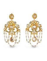 Jay Strongwater Golden Chandelier Clip Earrings MPN: SJ9252-232
