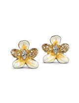 Jay Strongwater Rosalinda Golden Violet Post Earrings MPN: SJ9242-232