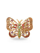 Jay Strongwater Carrie Flora Butterfly Tack Pin MPN: SJ9133-256