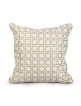 Jay Strongwater Delft Garden Trellis Pillow MPN: ST4084-284