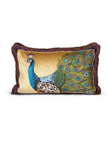 Jay Strongwater Peacock Peacock Pillow MPN: ST4073-208