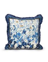 Jay Strongwater Delft Garden Poppy Pillow MPN: ST4044-284