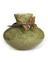 Jay Strongwater Lorelei Flora Butterfly Vase MPN: SDH6582-456