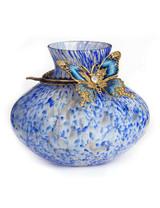 Jay Strongwater Lorelei Delft Garden Butterfly Vase MPN: SDH6582-284