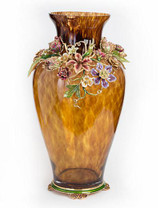 Jay Strongwater Louisa Bouquet Dutch Floral Vase MPN: SDH2408-289