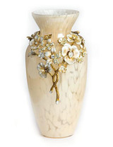 Jay Strongwater Polly Golden Bouquet Vase MPN: SDH2400-232