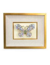 Jay Strongwater Vanessa Flora Mille Fiori Butterfly Wall Art MPN: SHW3280-256